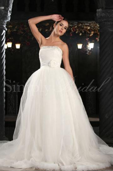 Top Wedding Dress Straight