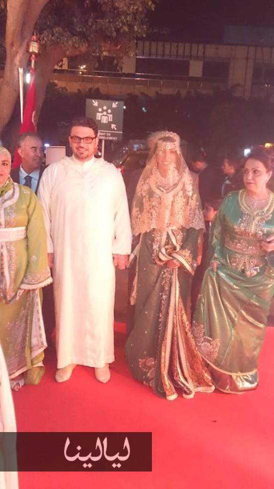 First Pictures Of Donia Batma S Wedding To Mohammad Al Turk Arabia Weddings