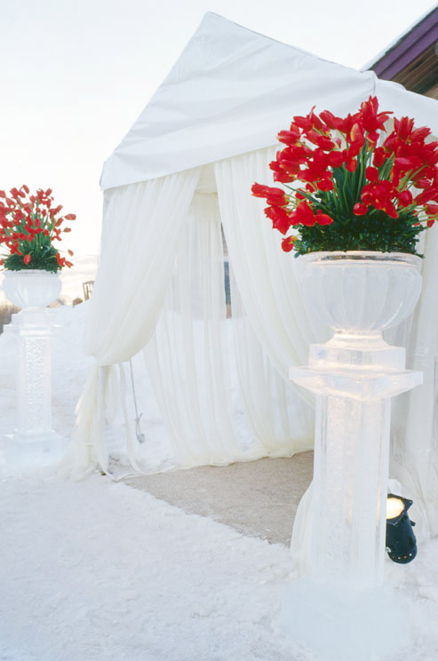 Winter Wedding Theme: Fire and Ice - Arabia Weddings