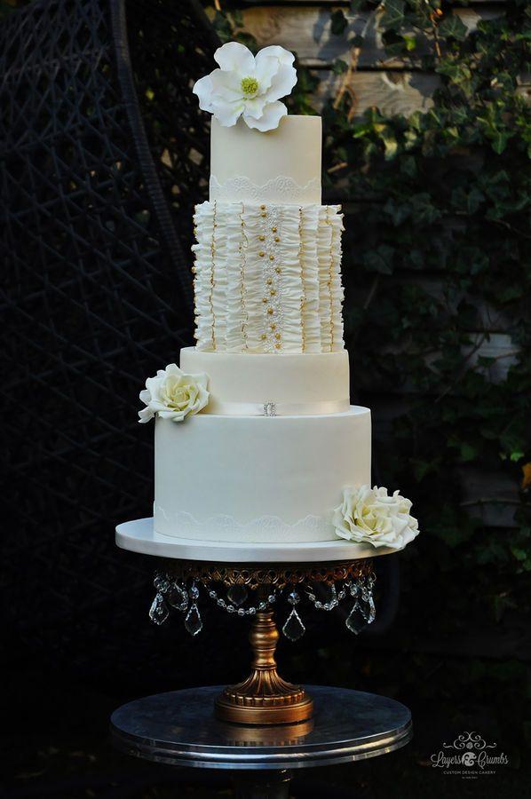 Images Of Round Wedding Cake : Round Wedding Cakes are Back - Arabia Weddings