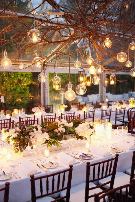 A nature themed wedding arabia weddings - Decoration nature mariage ...