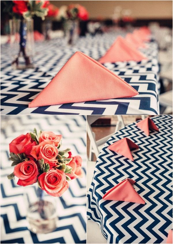 A Chevron Wedding Theme Arabia Weddings