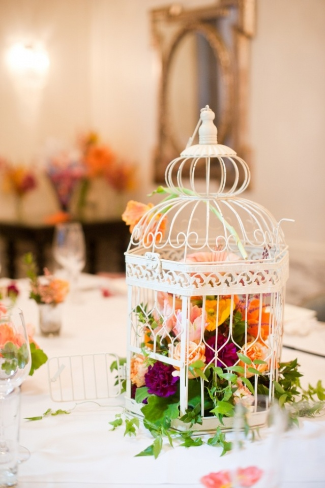 Birdcage Centerpieces For Weddings Images Wedding