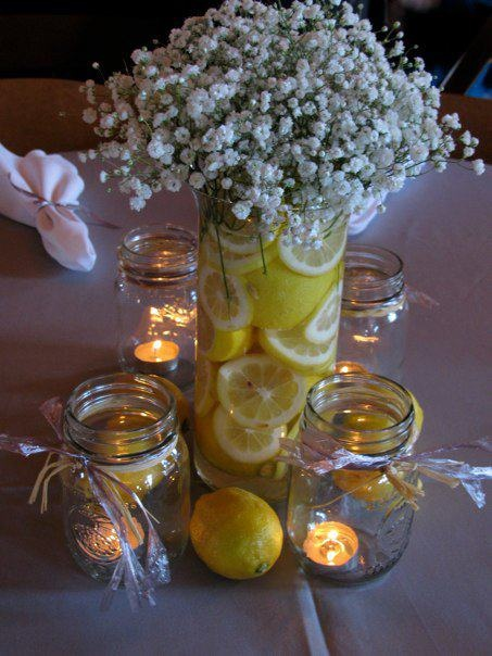 Have A Look Also At This Video To Help You Make Your Own Lemon Centerpieces
