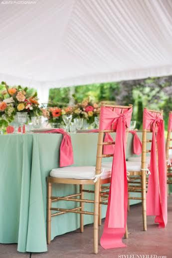 Your Wedding in Colors: Mint Green and Baby Pink - Arabia Weddings