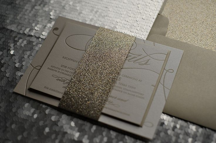 Here Are Some Metallic Wedding Invitations That We Love And For More Pictures Of Click