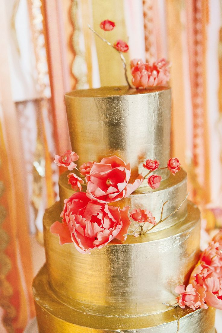 Your Wedding In Colors Coral And Gold Arabia Weddings