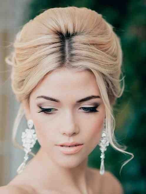 Bridal Makeup Hairstyle Images : Bridal Hair Trend: Soft Beehive - Arabia Weddings