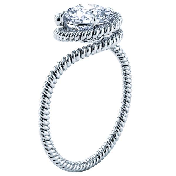 Wedding Ring Trend Spiral Rings Arabia Weddings