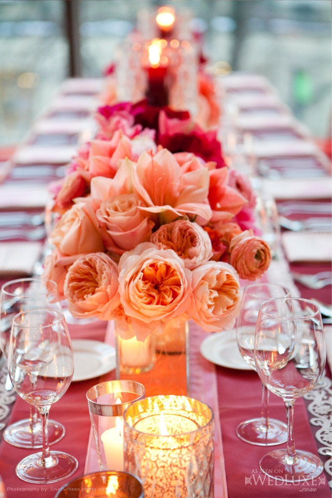 Your Wedding In Colors Peach And Red Arabia Weddings