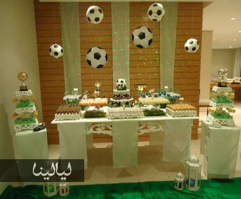 A world cup bachelor party theme arabia weddings for Bachelor party decoration ideas