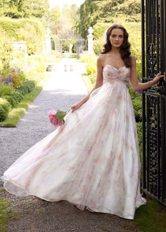 Floral wedding dresses we love for summer arabia weddings floral wedding dresses we love for summer junglespirit Choice Image