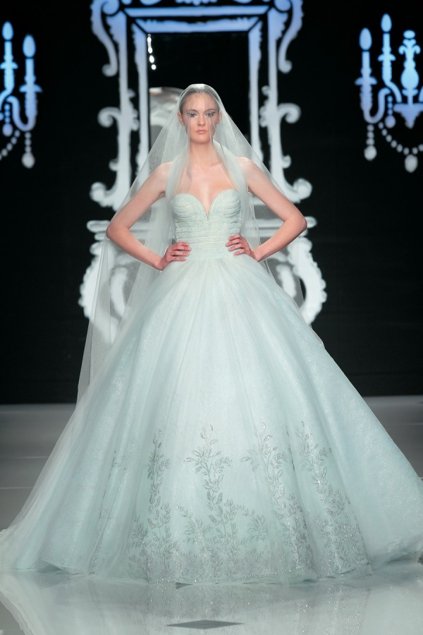 Mint Green Wedding Dresses For Summer 2014