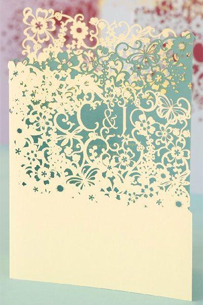 Wedding Invitation Card Trend Laser Cut Invites Arabia Weddings