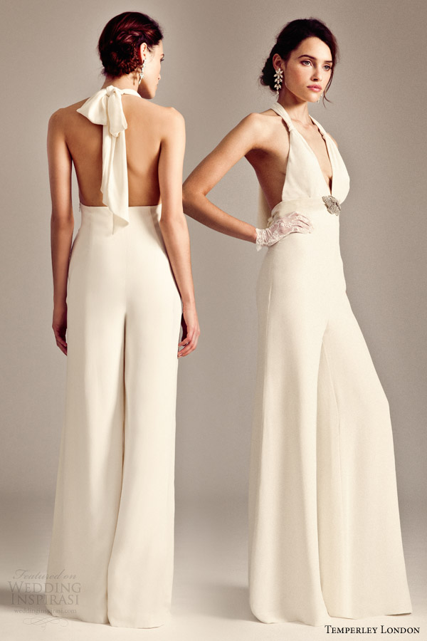 Bridal Fashion Trend The Bridal Jumpsuit Arabia Weddings