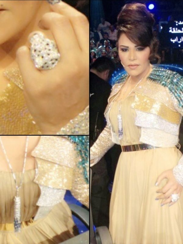 Get Your Jewelry Inspiration From Ahlam Arabia Weddings