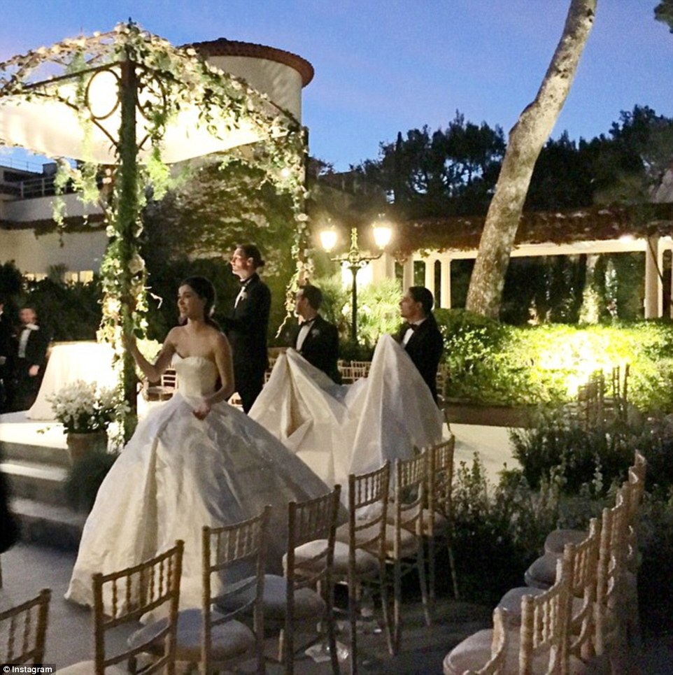Pictures Fantasy Wedding For Bob Diamond S Daughter