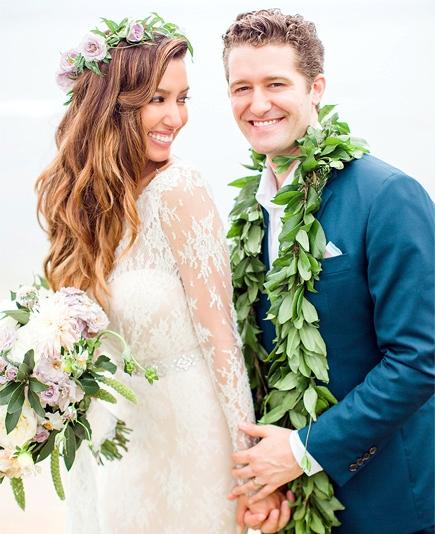 Glee Star Matthew Morrison And Renee Puente Got Married