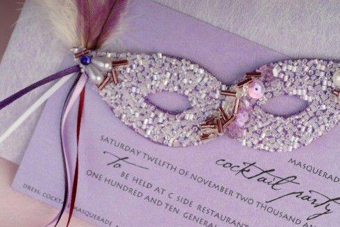 A Masquerade Ball Wedding Theme - Arabia Weddings