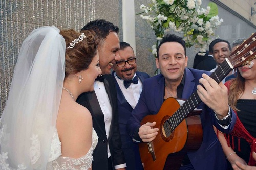 Moustafa amar wedding