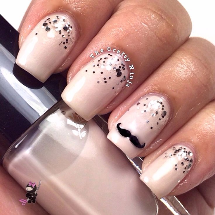 Support movember with some cool nail art arabia weddings movembernailsg prinsesfo Choice Image