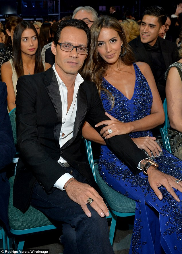 Marc Anthony And Shannon De Lima S First Appearance As