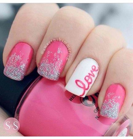 Nail art bridal trend beautiful words arabia weddings love1g prinsesfo Gallery