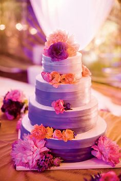 orange and purple wedding cake ideas your wedding in colors rustic orange and purple arabia 18038