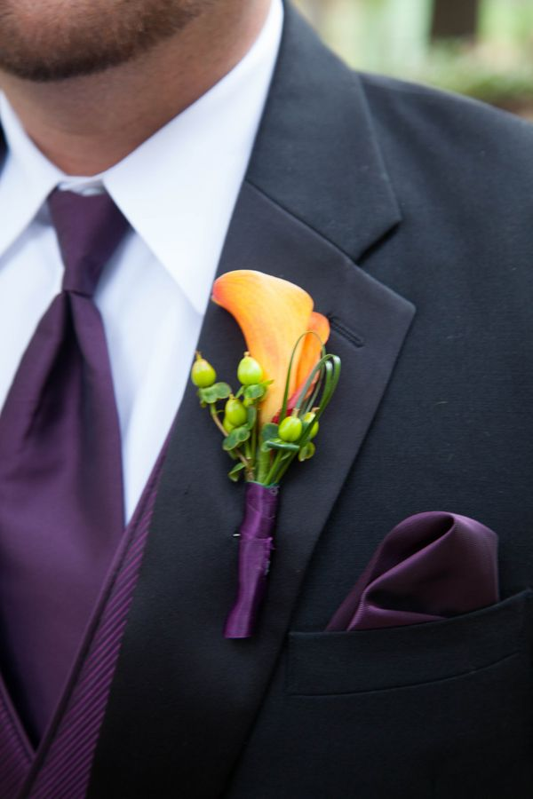 Ideas For A Purple And Orange Wedding