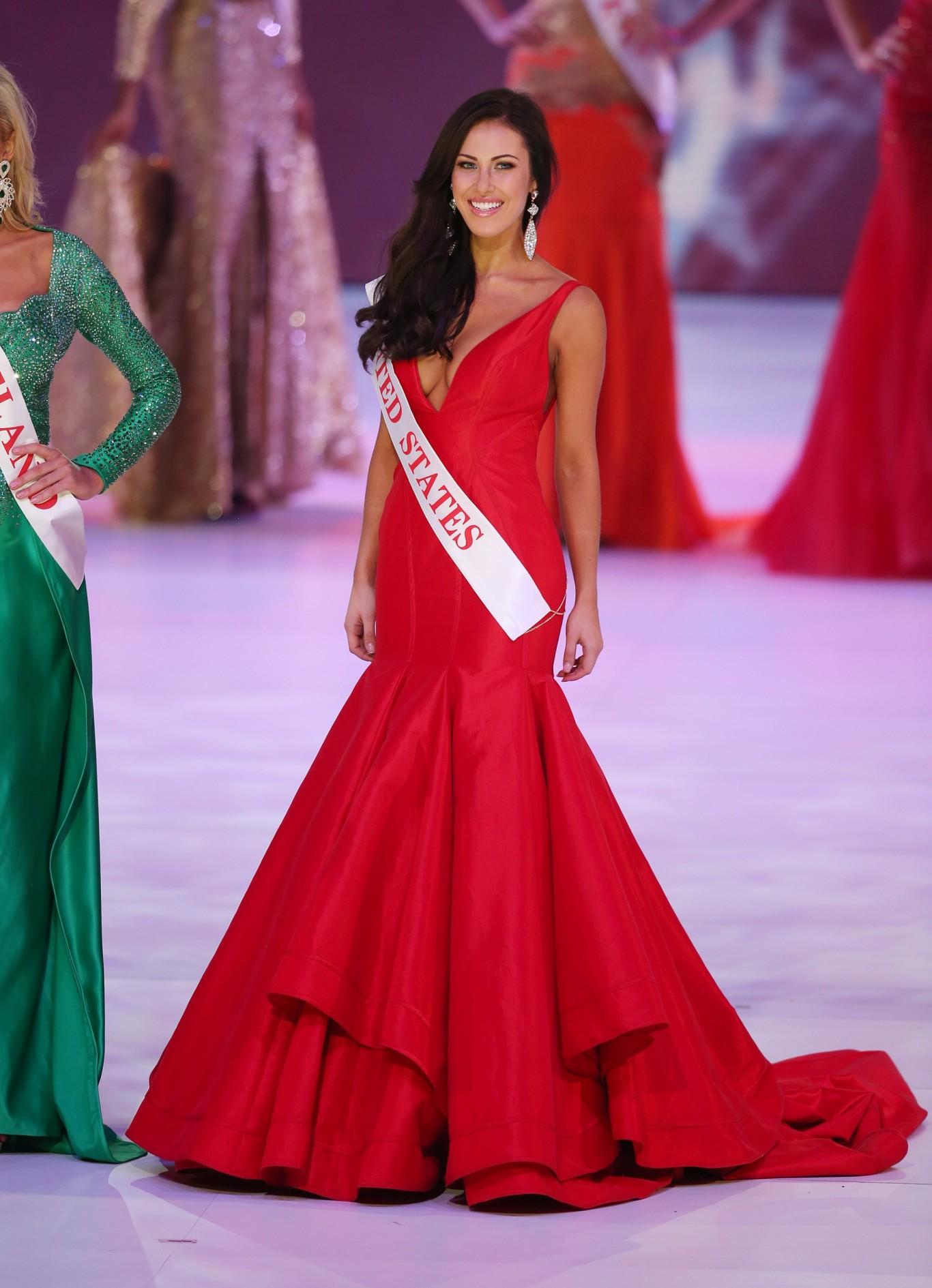 Engagement Dress Inspiration Miss World 2014 Arabia