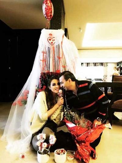 Pictures: Anabella Hilal and Husband Celebrate - Arabia ...