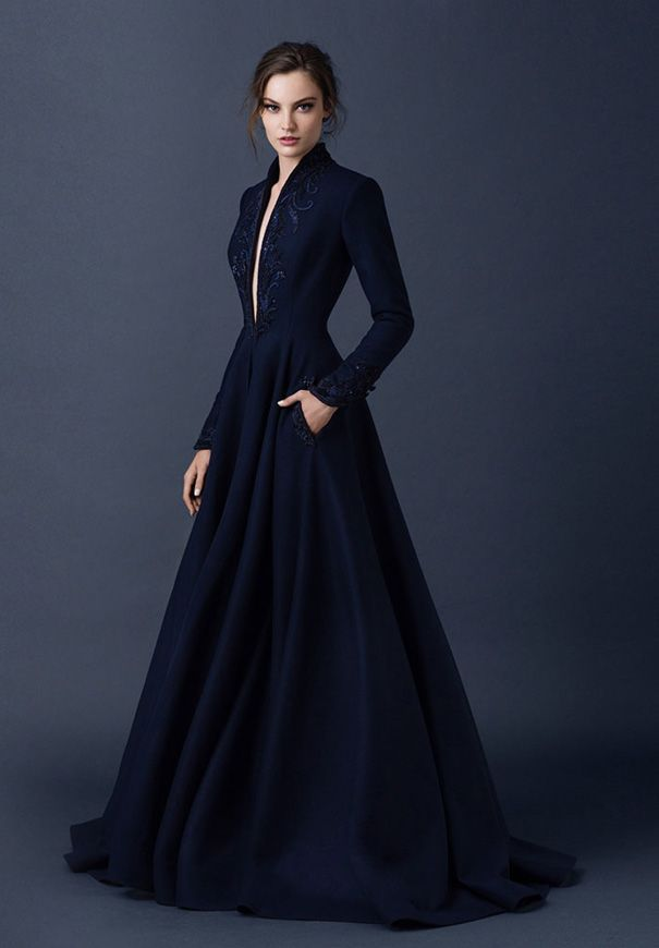 Navy Blue Wedding Dresses that You Will Love - Arabia Weddings