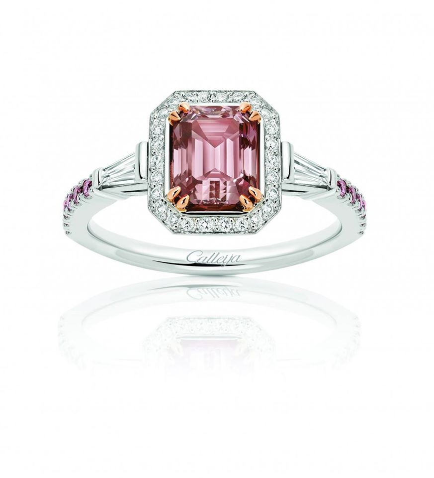 Glenn Bakker's Argyle Pink Diamonds for Weddings