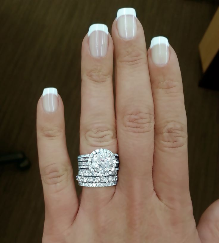 New Wedding Ring Trend: Stacked Rings!