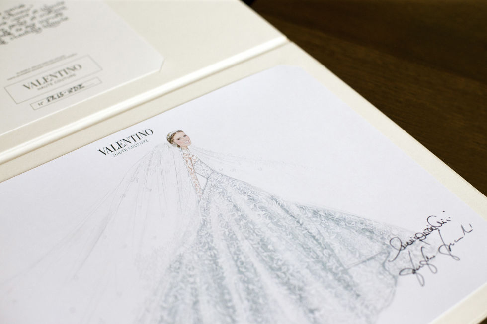 More Pictures Of Nicky Hilton S Valentino Bridal Gown And Shoes
