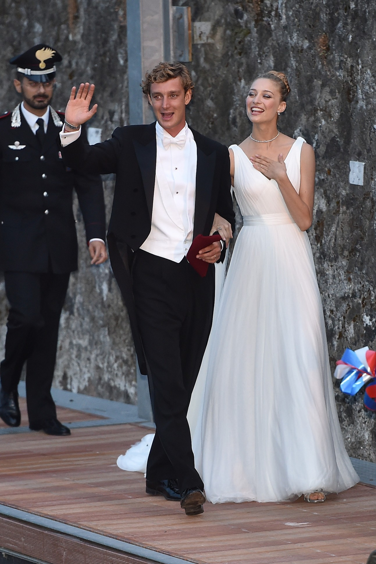 More Pictures Revealed From Pierre Casiraghis Wedding