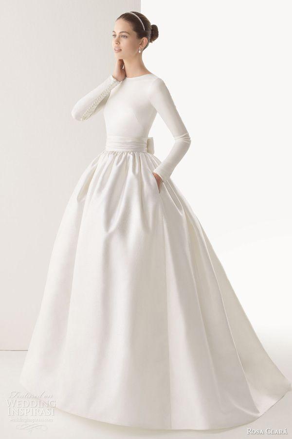 White Silk Wedding Dress 67 Awesome rosa clara