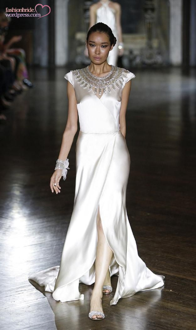 Egyptian Inspired Wedding Dress Johanna Johnson Bridal