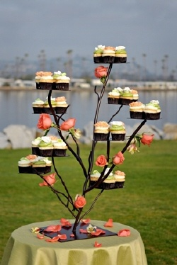 Creative Ways To Display Cupcakes At Your Wedding Arabia