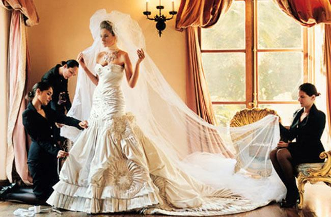 Trump And Melania Wedding.Wedding Dress Inspiration From Melania Knauss Trump Arabia Weddings