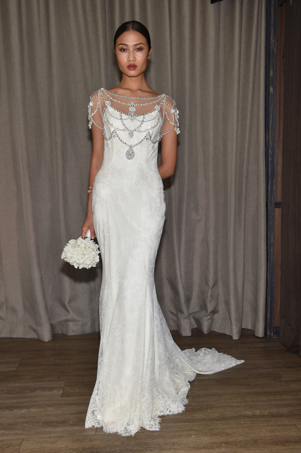 Badgley Mischka's Fall 2016 Bridal Collection at New York ...