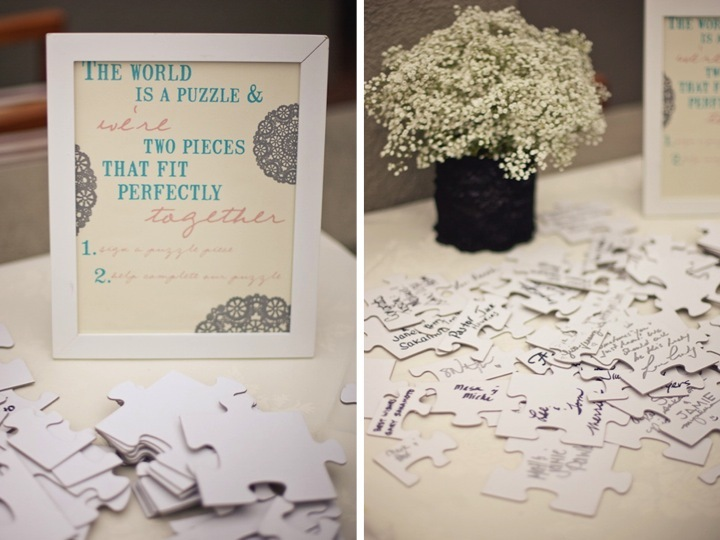 A Puzzle Where You Can Rebuild After The Wedding And Hang It In Frame On Your Wall
