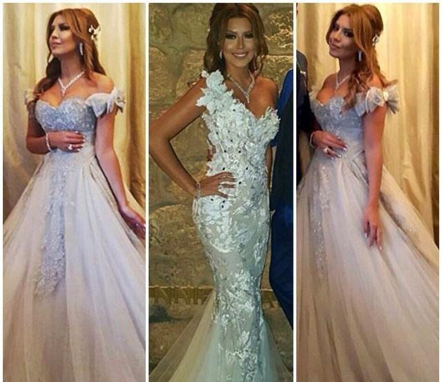 7 Wedding Day Looks By Arab Celebrities