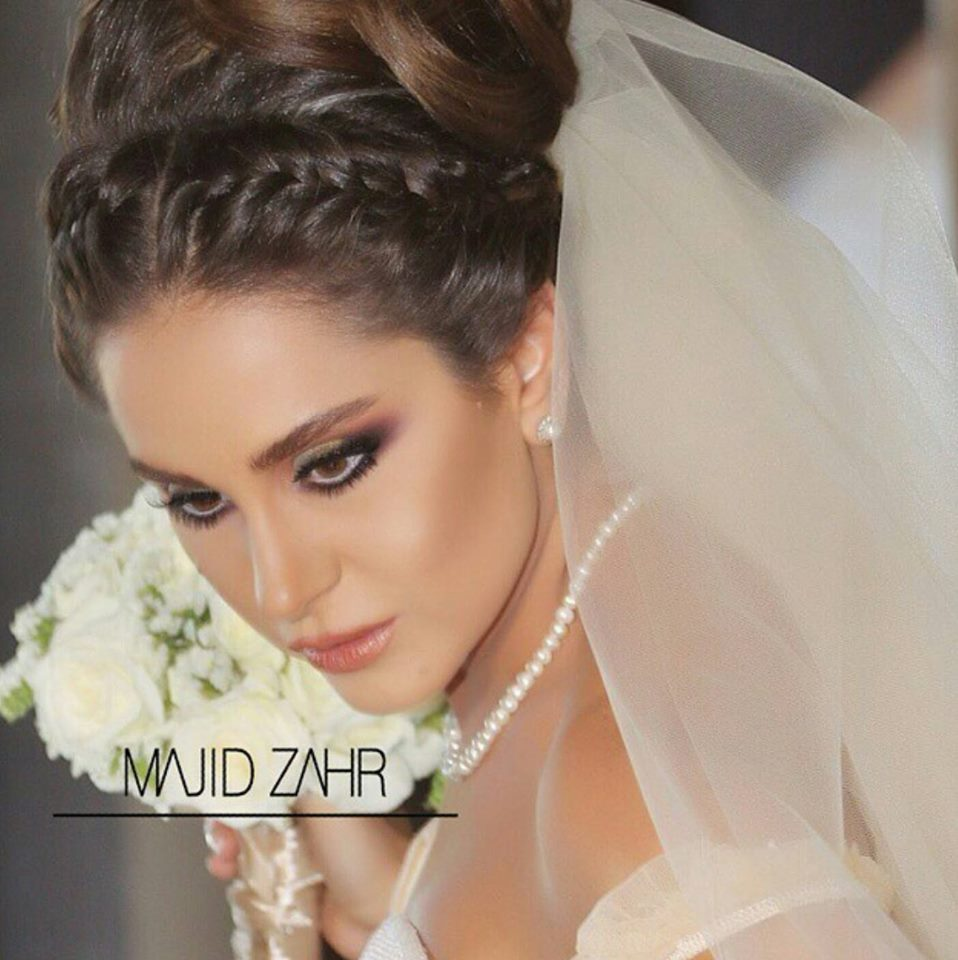 7 wedding day looks by arab celebrities - arabia weddings