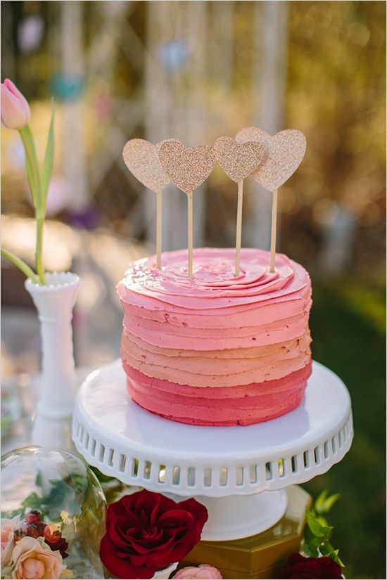 pink ombre bridal shower cake ombre_bridal_shower_cake