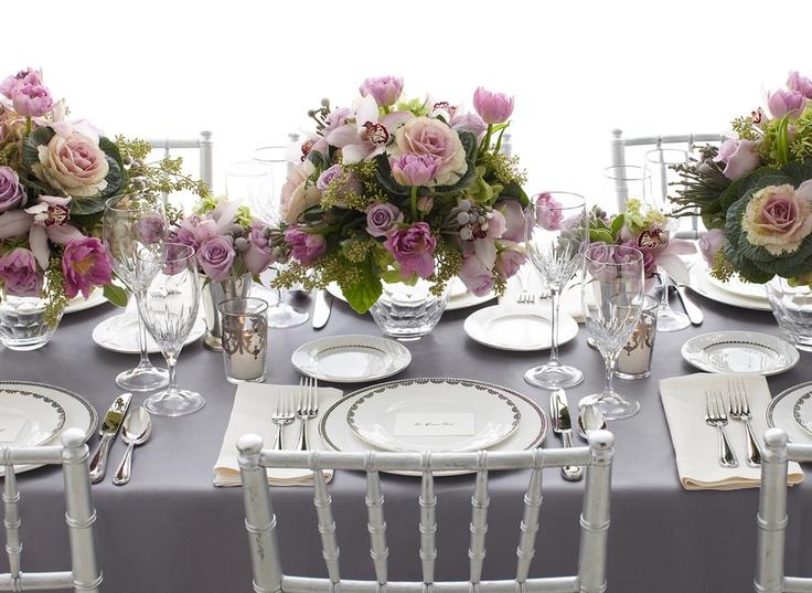 Lavender and Grey Wedding Color Ideas - Arabia Weddings
