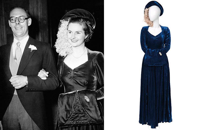 Margaret Thatchers Wedding Dress Up For Auction