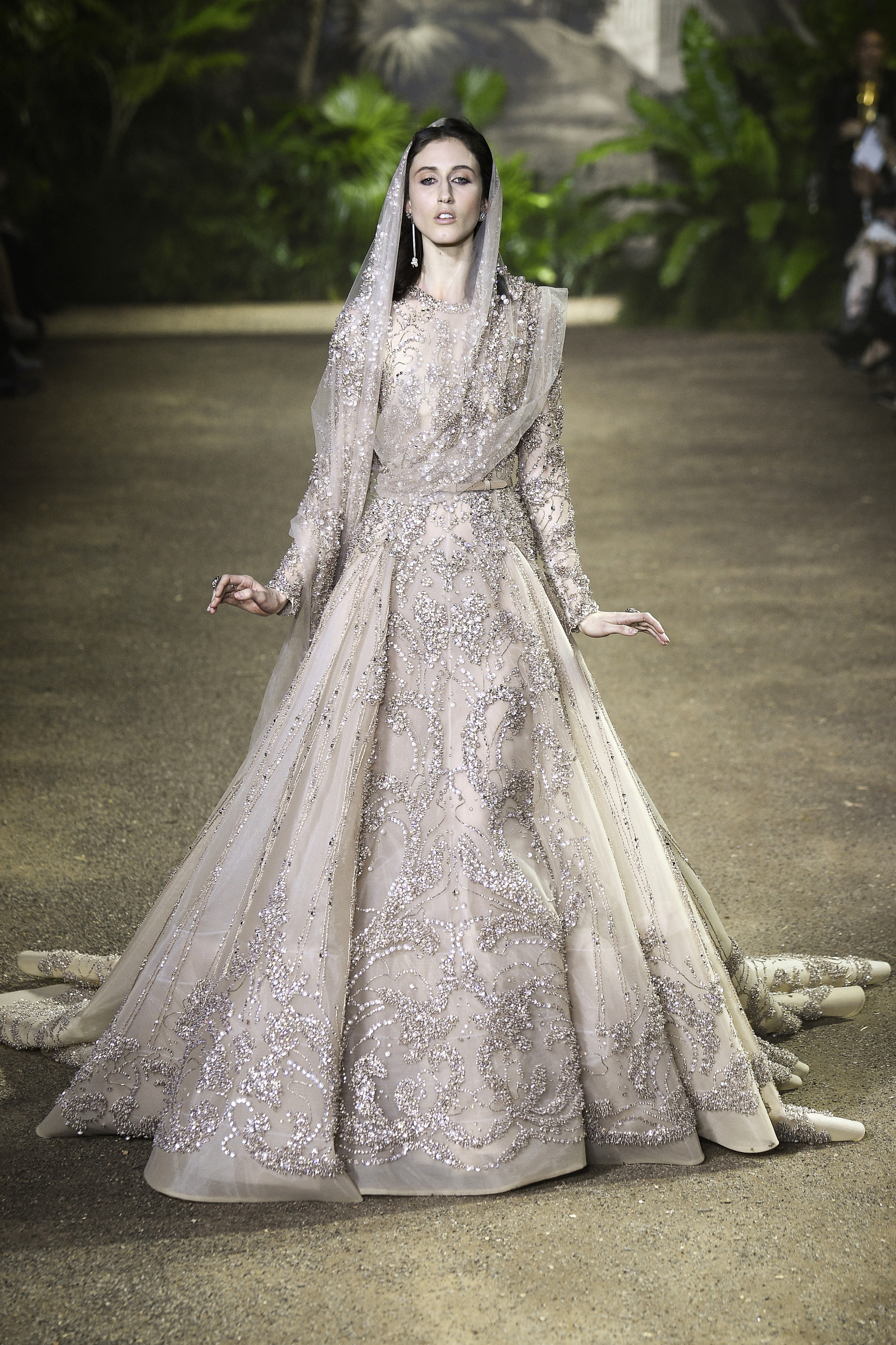 Elie Saabs Spring 2016 Haute Couture Collection at Paris Fashion Week