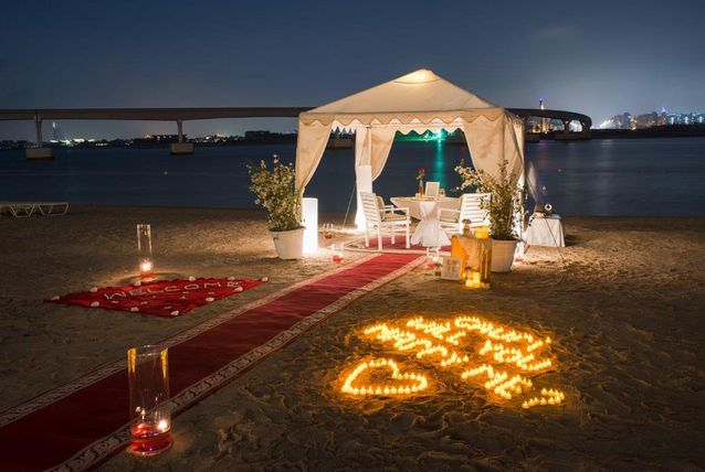 the most romantic marriage proposals in dubai arabia weddings