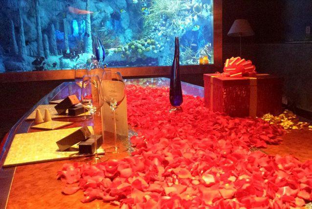 The best marriage proposals in dubai arabia weddings for Burj al arab underwater room